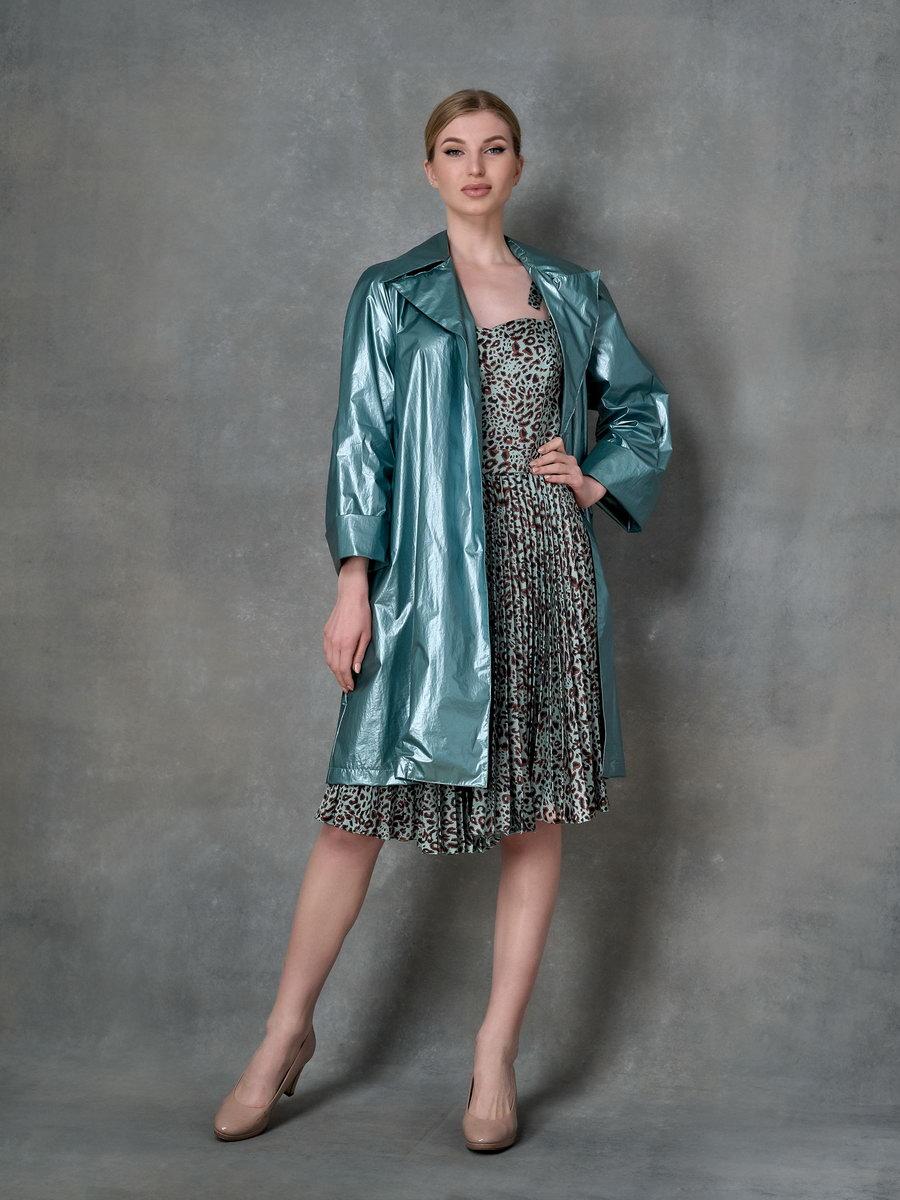 Платье с леопардовым принтом