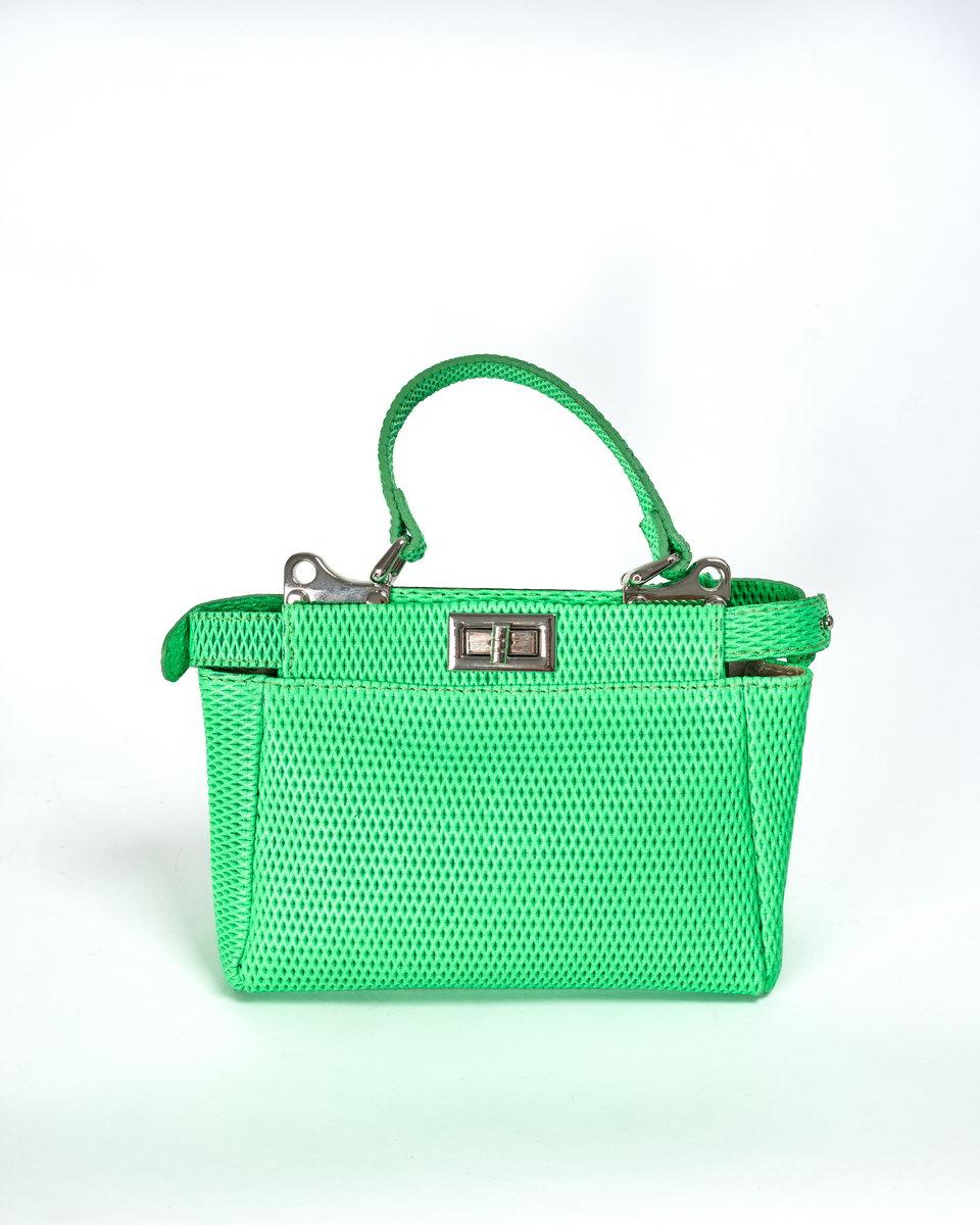 Мини-сумка неоновая